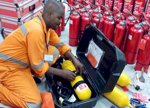 SCBA Equipment Inspection